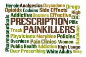 Prescription Painkillers — Stock Photo
