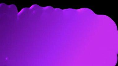 Four paint color blobs — Stock Video