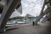 Modern museum architecture in Valencia — Stock Photo