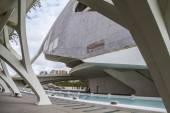 Modern museum architecture in Valencia — Stockfoto