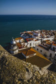 Penyscola village views from the castle — Stock Photo
