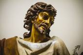 Jesus Christ with white mantle — Stock Photo