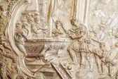 中世手書き銀の本 — Stock fotografie