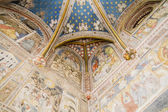 Ruined chapel inside the Cathedral of Toledo — Foto Stock