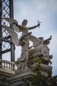 Heykel melekler — Stok fotoğraf