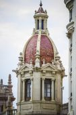 Architecture of the Spanish city of Valencia — Stock Photo