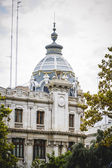 Architecture of the Spanish city of Valencia — Stock Photo