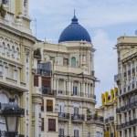 Architecture of city Valencia — Stock Photo #53847927