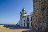 Panorama spagnolo con mare blu profondo — Foto Stock