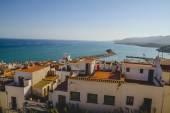 Spanish landscape with deep blue sea — Stock Photo