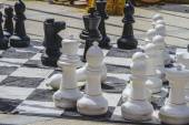Giant chess games — Stock Photo
