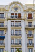 Architecture of city Valencia — Stock Photo