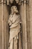 Ornamenten en sculpturen van gotische stijl — Stockfoto