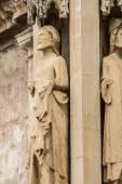 饰品和哥特式建筑风格的雕塑 — 图库照片