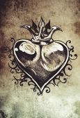 Sketch of tattoo art — Stock Photo