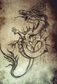 Tattoo pattern — Stock Photo