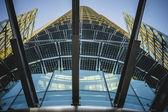 Corporate Modern crystal building — 图库照片