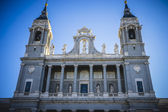 Ancient Almudena Cathedral — Stock Photo