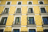 Building with classic balconies — Stock Photo