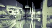 Business room, modern design concept — Stock Photo