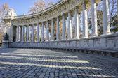 Classic columns gallery — Stock Photo