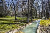 Waterway in Retiro park — Stok fotoğraf