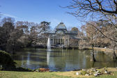 Crystal Palace in the Retiro park — Stock Photo