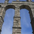 Roman aqueduct of segovia. — Stock Photo #69530417