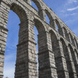 Roman aqueduct of segovia. — Stock Photo #69530427