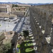 Roman aqueduct of segovia. — Stock Photo #69530573