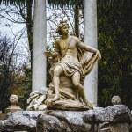 Royal gardens of Aranjuez, Spain — Stock Photo #72822079