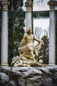 Royal gardens of Aranjuez, Spain — Stockfoto