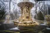 Royal gardens of Aranjuez, Spain — Stock Photo