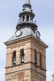 Bell tower at the medieval town — Stock Photo