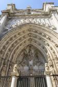 トレドの大聖堂のファサード — ストック写真