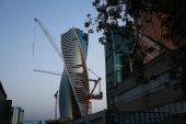 摩天大楼建设 — 图库照片