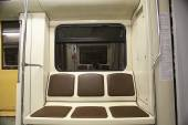 Empty train car — Stock Photo
