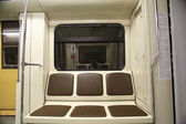 Empty train car — Stock fotografie