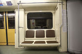 Empty train car — Stockfoto