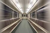 Empty subway car — Stock Photo