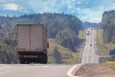 Předměstské dálnice — Stock fotografie