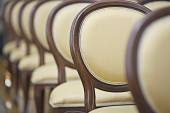 Chairs in the hall — Stock Photo
