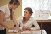 Rewarding young professionals — Stock Photo