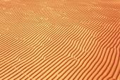 Yellow wave sand texture — Stock Photo