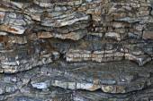 Texture de couches de roche — Photo