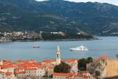 Budva on Adriatic Sea coast — Foto Stock