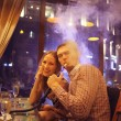 Couple in cafe — Stock Photo #59978371