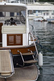 Element of yacht — Foto Stock