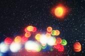 Blurred Christmas background — Stock Photo