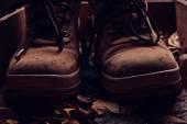 Eski ayakkabı — Stok fotoğraf